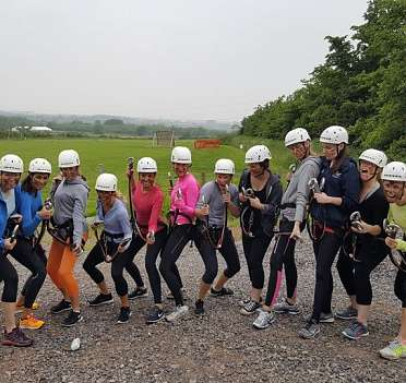 High Ropes Hen and Stag Party