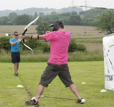 Archery Tag Hen and Stag Parties