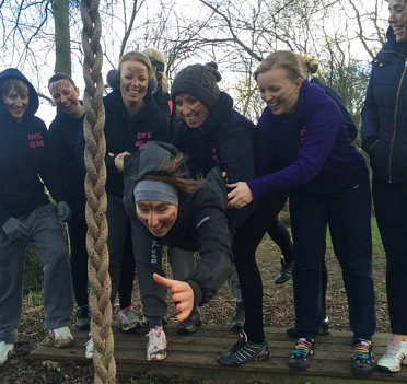 Hen Party Low Ropes
