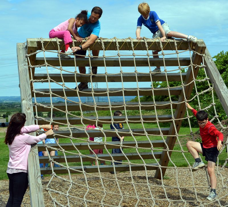 assault course at mojo active