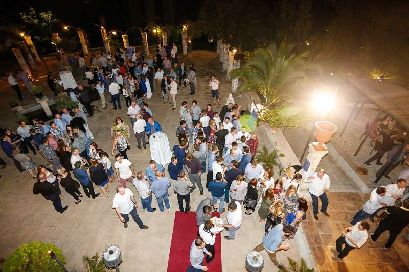 gala dinner in majorca organised by mojo active