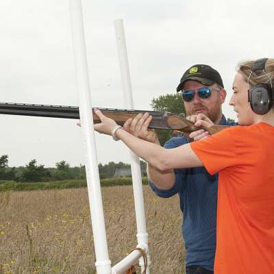 mojo active clay pigeon shooting