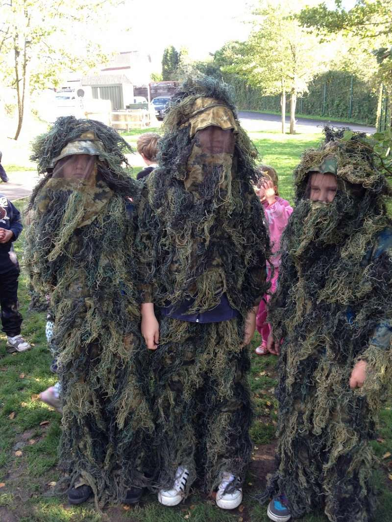 Ghillie Suits - Survival Skills
